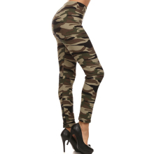 Women Leggings 2016 Spring Autumn Women's Leggings Fitness Women jeggings Camouflage pant Leggins Calzas Deportivas Mujer