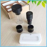 Ücretsiz Sürücü 5MP USB CMOS Kamera Stereo Biyolojik Mikroskop için Mikroskop Mikrometre ile Dijital Elektronik Mercek