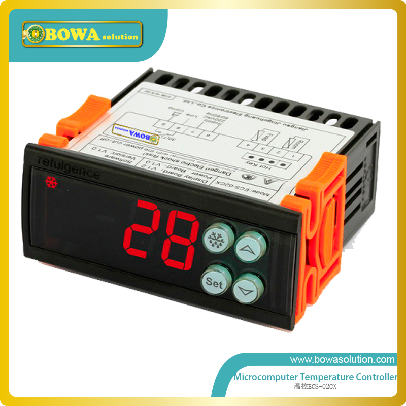Microcomputer temperature controller for commerce refrigertion equipment replacing Dixell or Carel  цены