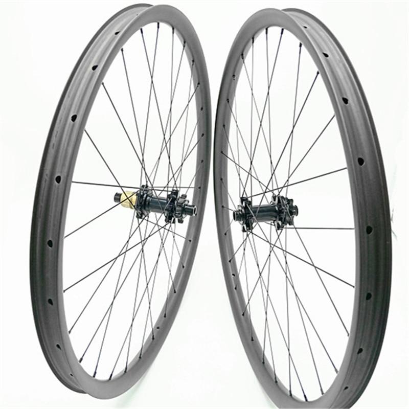 27.5er carbono mtb rodas 35mm 650 Bmtb impulso BX402 Bitex rodado rodas da bicicleta MTB 1420 raios de bicicleta MTB rodado XD 28 H 32 H UD