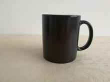 Crazy Cat Mom Black Mugs changing color Ceramic