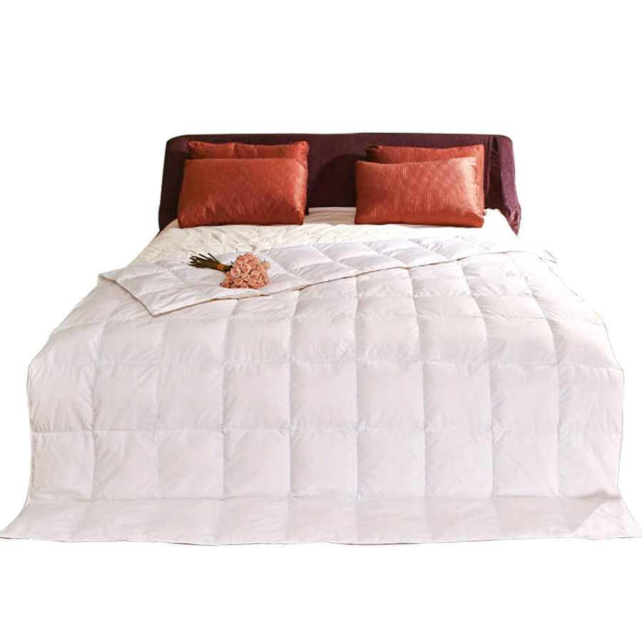 Peter Khanun White Duck Down Summer Quilt/Comforter/Duvet/Blanket TTC Shell Cut Through 4 Colors Twin Queen King Top Quality 022