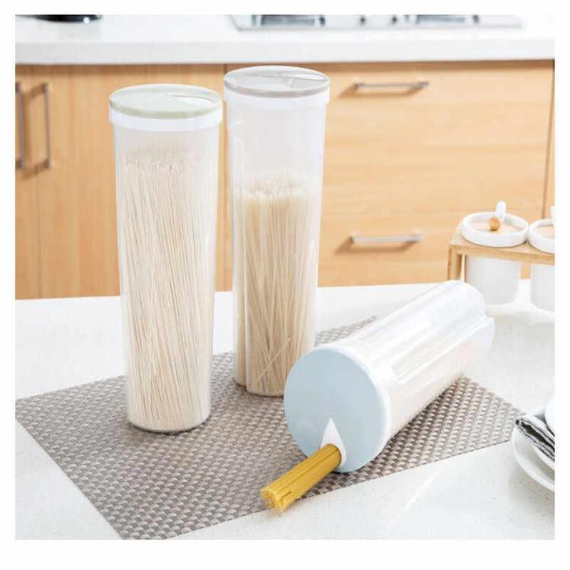 Macarrão cozinha Recipientes de Plástico Transparente Caixa de Armazenamento Hermético Recipiente De Armazenamento De Alimentos Tanque de Armazenamento de Grãos de Cereais