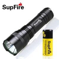 Mini Supfire CREE XM L T6 1100LM Waterproof Powerful LED Flashlight rechargeable self defense 10w 5 Modes LED Torch L6 L2 st