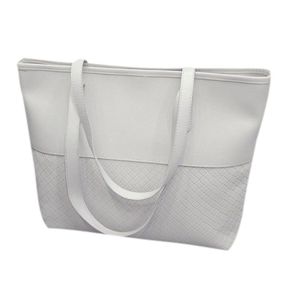 Women PU Leather Shoulder Bag Handbag Shoulder Tote Satchel Large Messenger Bag Purse for shopping#ZSWomen PU Leather Shoulder Bag Handbag Shoulder Tote Satchel Large Messenger Bag Purse for shopping#ZS