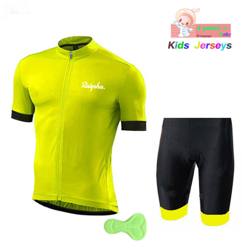 177972167 Kids 2018 Cycling Clothing boys Suit MTB Bike Clothing Breathable Anti-UV Bicycle  Wear Summer Short Sleeve Cycling Jersey Sets