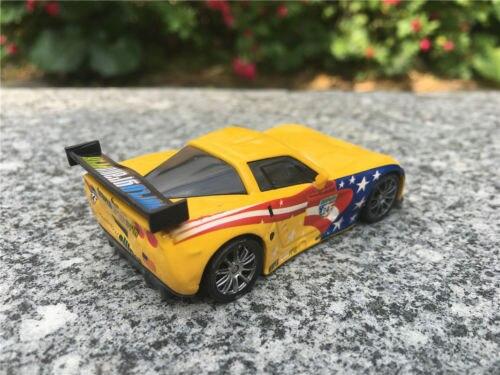 Disney Pixar Cars 2 Racer Metal Diecast Jeff Gorvette Toy Cars New