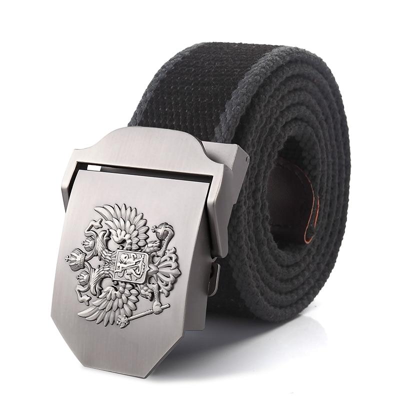 Alloy buckle military men Belts 2