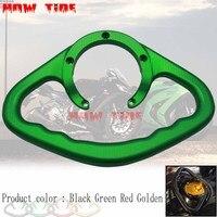 Motorcycle Passenger Handgrips Hand Grip Tank Grab Bar Handle Armrest For Kawasaki Z1000 03 12 ZX10R ZX6R ZX 10R 6R 6RR