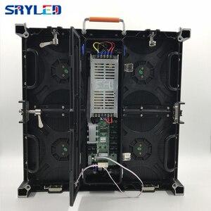Image 3 - P4.81 Açık LED Ekran Nova Yıldız MRV300 Alma Kartı + Die Döküm alüminyum kabin 500*500 MM Sahne Açık led ekran