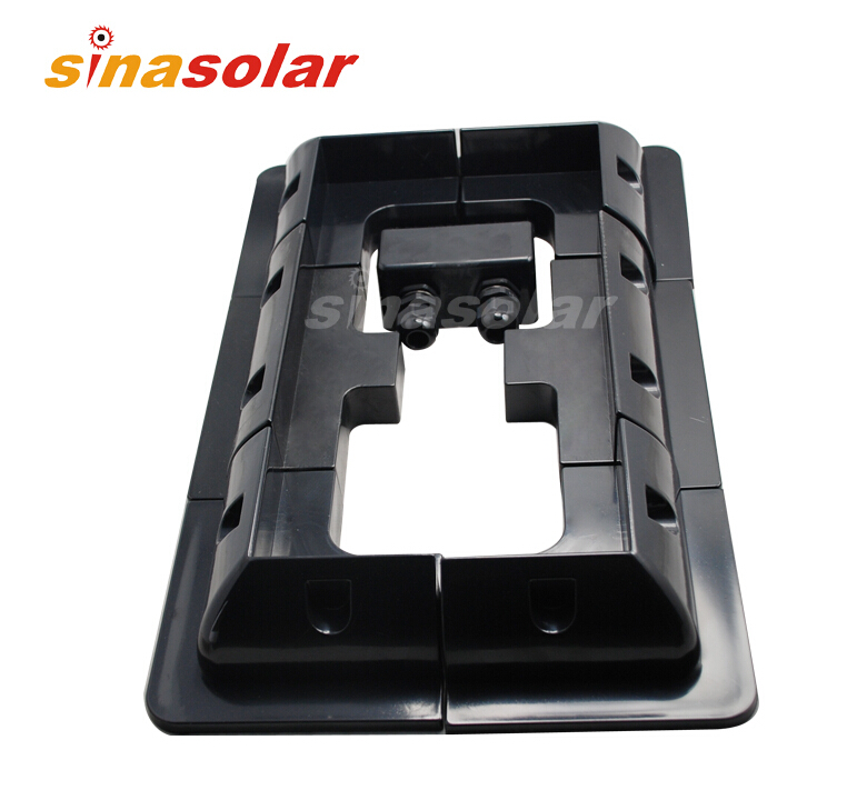 Special Price Black ABS Solar Panel Mounting Bracket System For Caravan Motorhome RV usb3 0 round type panel mounting usb connecter silver surface