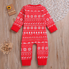 Christmas Clothes Baby Kids Romper Jumpsuit