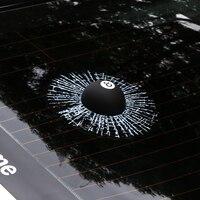 3D Car Stickers Funny Auto Car Styling Ball Hits Car Body Window Sticker Self Adhesive Baseball