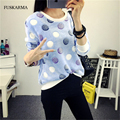 Women Basic Shirts Floral Sweaters Women Thick Winter Long Sleeve V-neck Knitted Pullover Femininas Fashion Loose Tops Blouse