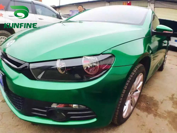 Car Styling Wrap Aurora Green Car Vinyl film Body Sticker with Air Free Bubble for Vehiche Motorcycle 1.52*20M /Roll