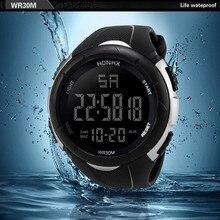 Luxury Men Analog Digital Military Army Sport LED Waterproof Wrist Watch Luminou