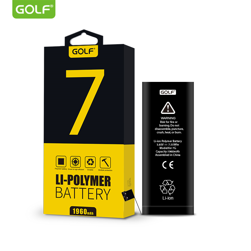 golf original battery for iphone 7 built in phone batterie. Black Bedroom Furniture Sets. Home Design Ideas