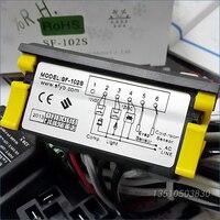 Sf-102S אלקטרוני טמפרטורת בקר טמפרטורת התרמוסטט בקר Zhongshan אנג פאנג מקפיא להפשיר-45 ~ 45 תואר