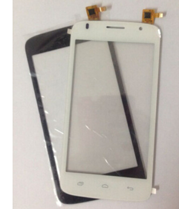 Black/White Touch screen For 5 LOGICOM E500 Digitizer glass replacement Sensor Screen Panel Free Shipping 1 pcs for iphone 4s lcd display touch screen digitizer glass frame white black color free shipping free tools