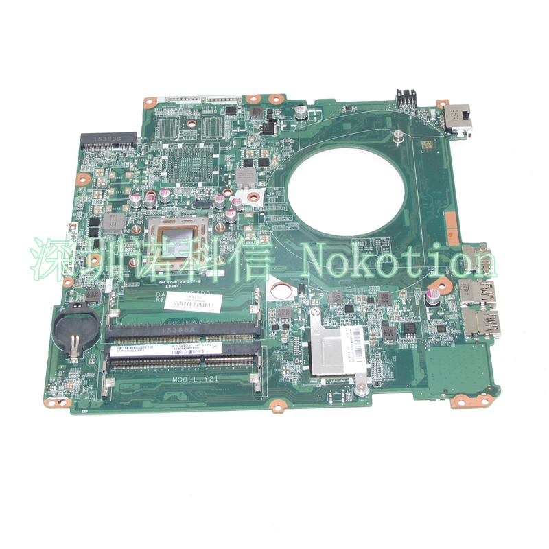 все цены на  NOKOTION Original 809985-601 809985-001 laptop motherboard for HP Pavilion 15-P A10-7300M CPU DAY21AMB6D0 Full tested works  онлайн