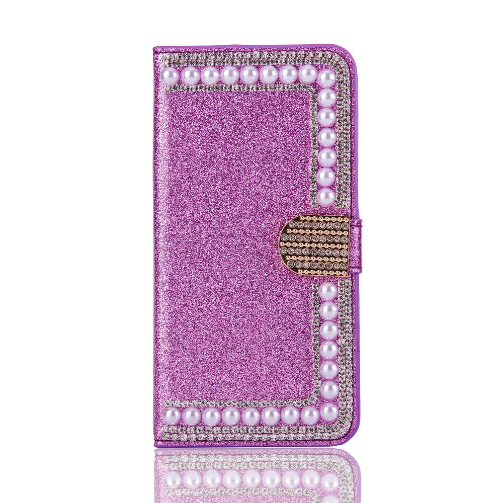 Buy it KISSCASE Glitter Cover for Samsung S6 S6 edge CASE For Samsung S7 S7edge S8 S8 Plus Capa image