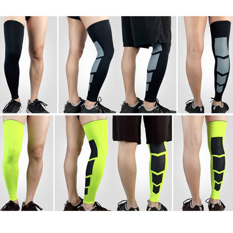 358b7e9bdb 2 Pcs Recovery Compression Leg Sleeve Sport Football Basketball Strech  Knees Long Support Pads B2Cshop-in Cycling Legwarmers from Sports &  Entertainment on ...
