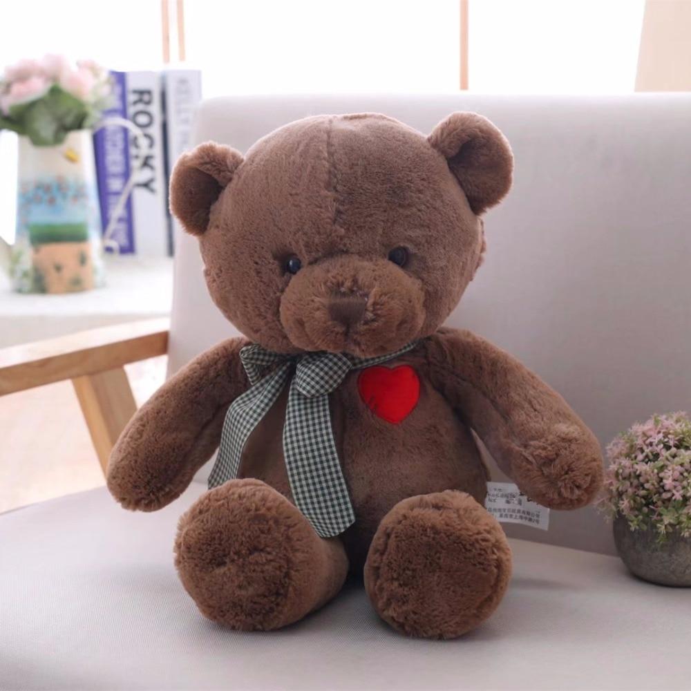 Stuffed Animals Soft Plush Teddy Bear 12 Inches Tall Hotter Than Coffee