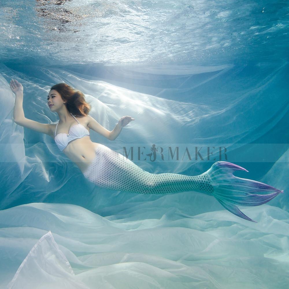 Free Shipping, Mermaid tail Cosplay костюмді көйлек - Костюмдер - фото 2