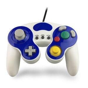Image 3 - Wired Gamepad בקר עם שלושה כפתור עבור משחק קוביית N G C כף יד ג ויסטיק