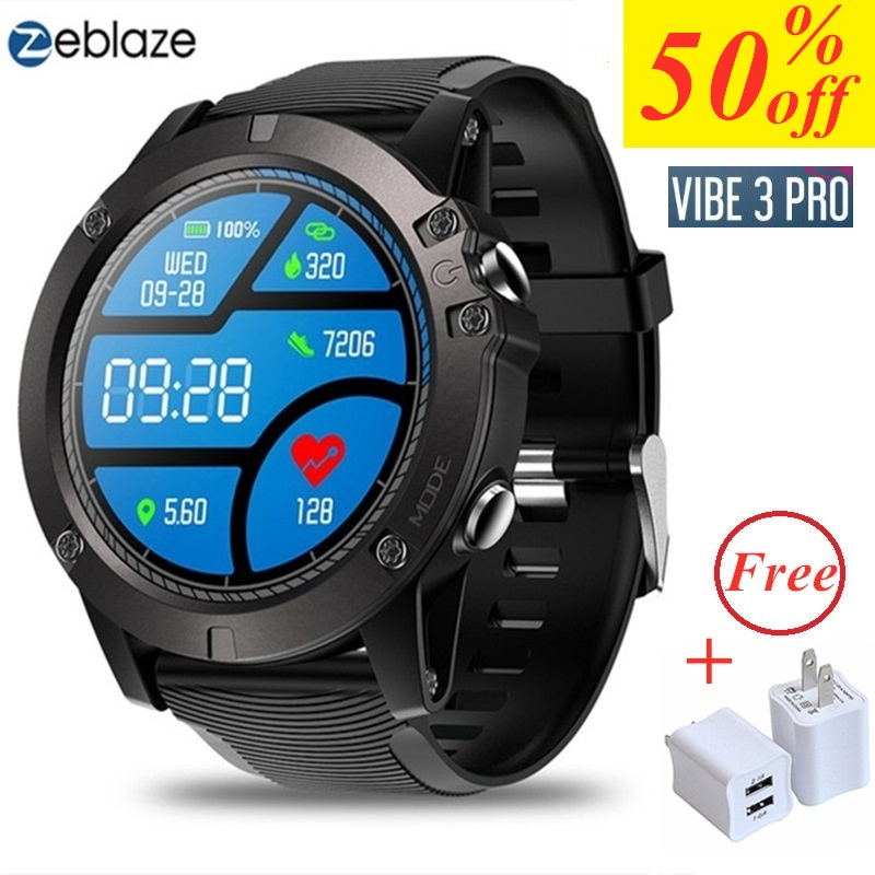Bluetooth 4 0 Smart Watch Zeblaze VIBE 3 PRO Sports Smartwatch Heart Rate Monitor Proximity Sensor