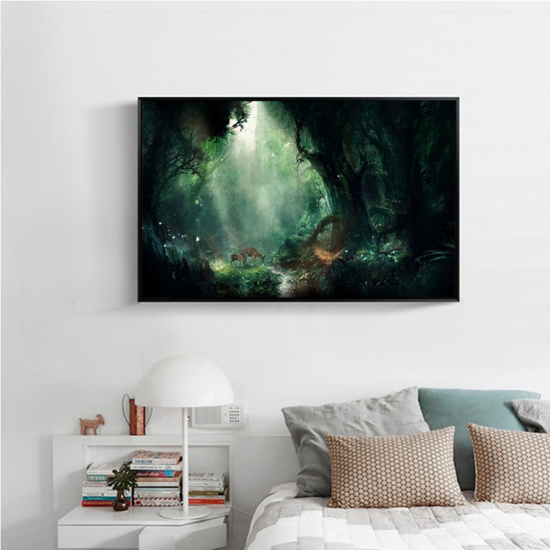 Creative 5D Fantasy Scenery Diamond Painting Digital Suite Full Drill Cover Home Wall Hanging Decoration Hot