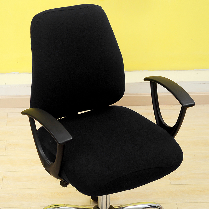 Solid Color Office Chair Covers Comfortable Seat