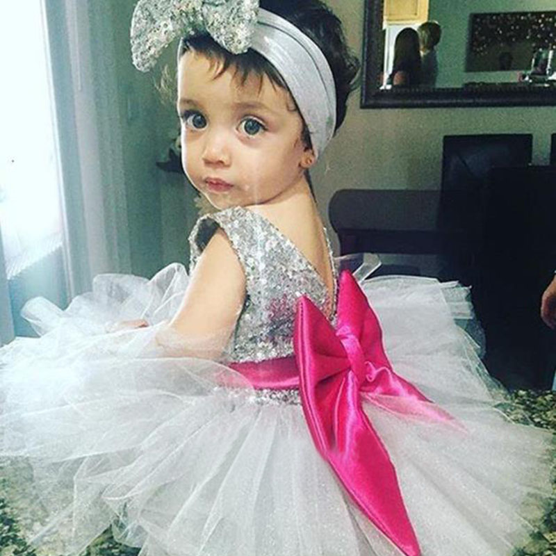 Baby Frock Designs Lace Christening Gown Gold Bow Baby Girl 1-6Y First Birthday Outfit Toddler Infant Party Dress Kids Vestido
