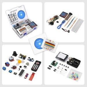 Image 3 - LAFVIN Super Starter KitสำหรับArduino UNO R3   Uno R3 Breadboard/ขั้นตอนมอเตอร์/1602 LCD/จัมเปอร์ลวด/CD Tutorial