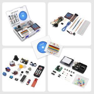 Image 3 - LAFVIN Super Starter Kit for Arduino UNO R3   Uno R3 Breadboard / Step Motor / 1602 LCD / jumper Wire / with CD Tutorial