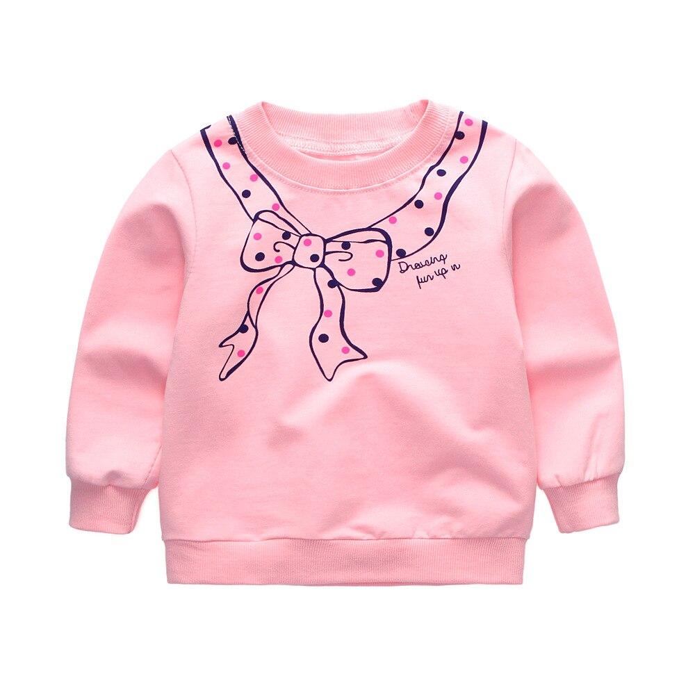 T-Shirt Kids Long-Sleeve Sweater Fall Girls Jumpingbaby Cotton Children Brand Spring