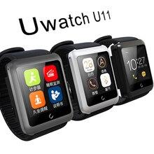 Original Uwatch U11 Smartwatch Bluetooth 4,0 unterstützung SIM Schrittzähler Stoppuhr schlaf-monitor für Android und IOS telefon uhr männer