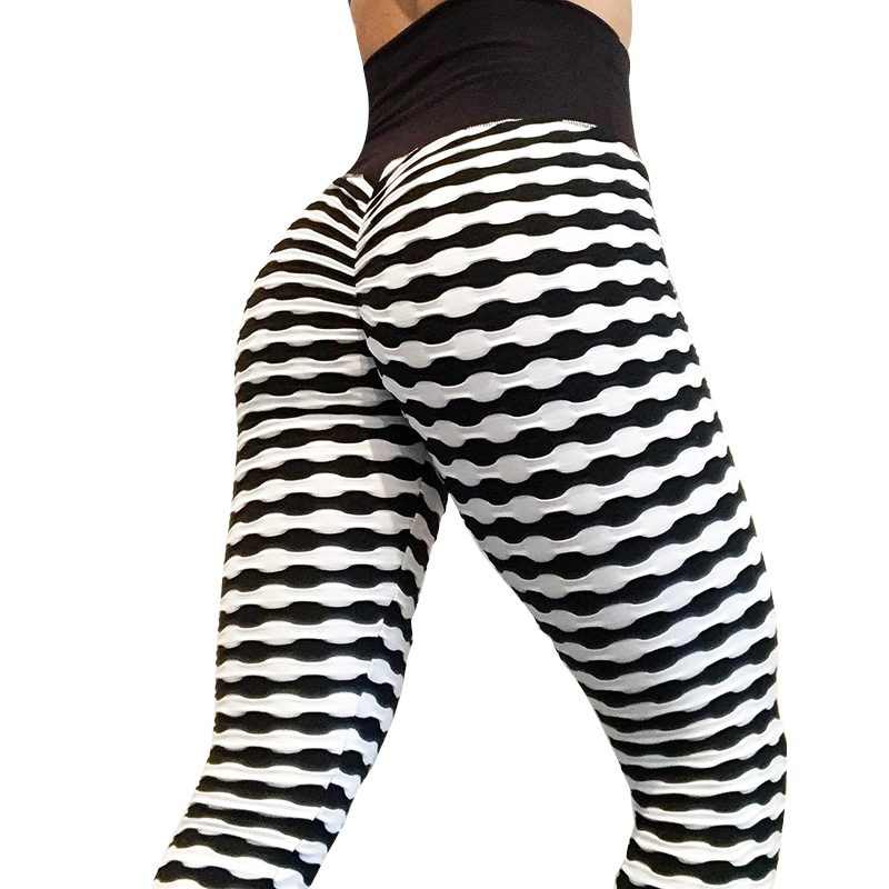 2018 Nuova stampa Digitale push up a vita alta leggings femminili 8N01