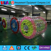 Factory Sale Inflatable Water Roller with free shipping
