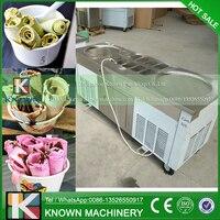 Yeni Ticari Kızarmış Dondurma Makinesi Yapmak Rulo Dondurma Buz Kızartma Makinesi Rulo Rulo Dondurma Makineleri|Dondurma makinesi|Ev Aletleri -
