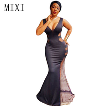 Mixi and maxi dress
