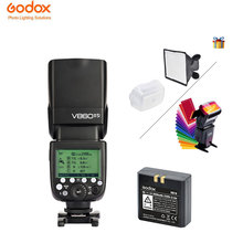 Godox Camera Flash Ving V860II-S  2.4G TTL with Lithium Battery  High Speed Sync For Sony Cameras