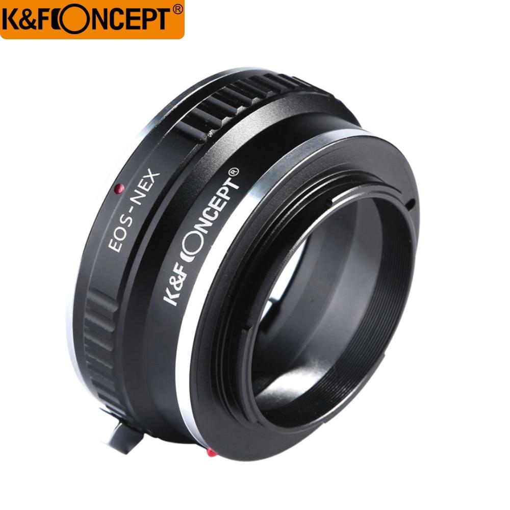 K&F CONCEPT Lens Adapter Ring for Canon EOS to Sony NEX E mount Camera NEX 3 NEX 5N NEX 7N NEX C3 NEX F3