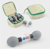 Classic 18 Cups Set HACI Magnetic Acupressure Suction Cupping Set Vacuum Cupping Magnetic Therapy Acupuncture Body