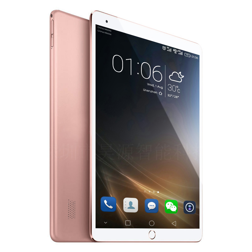3G\4G LTE Tablet PC <font><b>Octa</b></font> <font><b>Core</b></font> 4GB Ram 32\64GB Rom 10 inch 1920*1200 IPS Screen Android 7.0 WiFi WCDMA GSM GPS Bluetooth p200 image