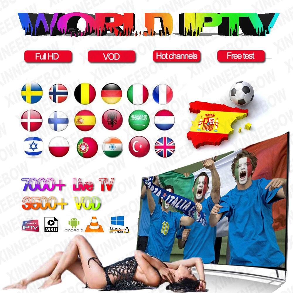 HOT SALE] Free Test IPTV Spain Subscription 1 Year IPTV