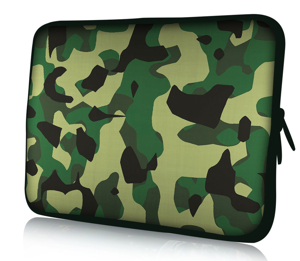 Camouflage Laptop Sleeve Case For Macbook Laptop AIR PRO Retina 11,12,13,14 15 15.6 inch, Notebook Bag 14, 13.3,15.4
