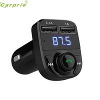 Newest Design Bluetooth Car Kit MP3 Player FM Transmitter Wireless Radio Adapter USB Charger OCT31