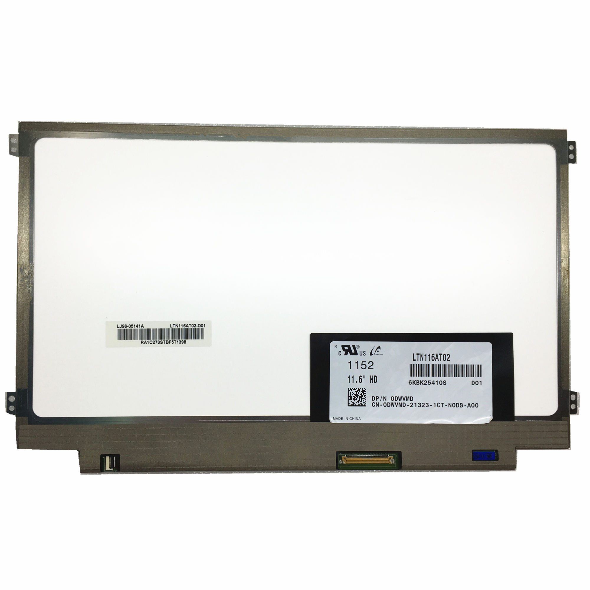 Free shipping LTN116AT02 D01 LTN116AT02 D01 only fit for original model Laptop Lcd Screen 1366 768