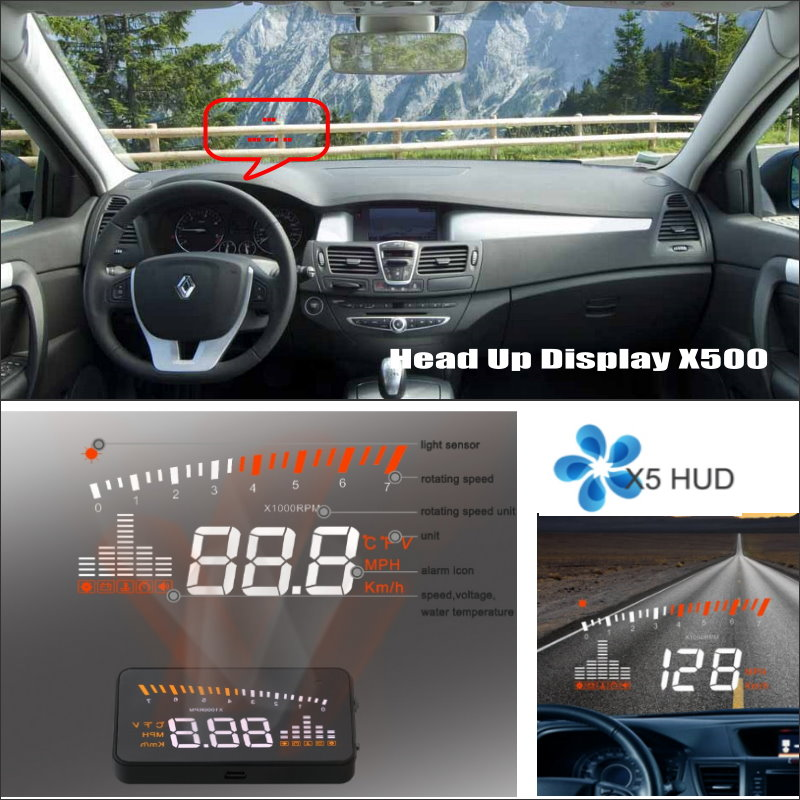 все цены на Car HUD Head Up Display FOR Renault Laguna 2 / 3 - Refkecting Windshield Screen Safe Driving Screen Projector